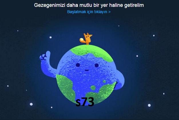 Dünya Günü İpuçları Google