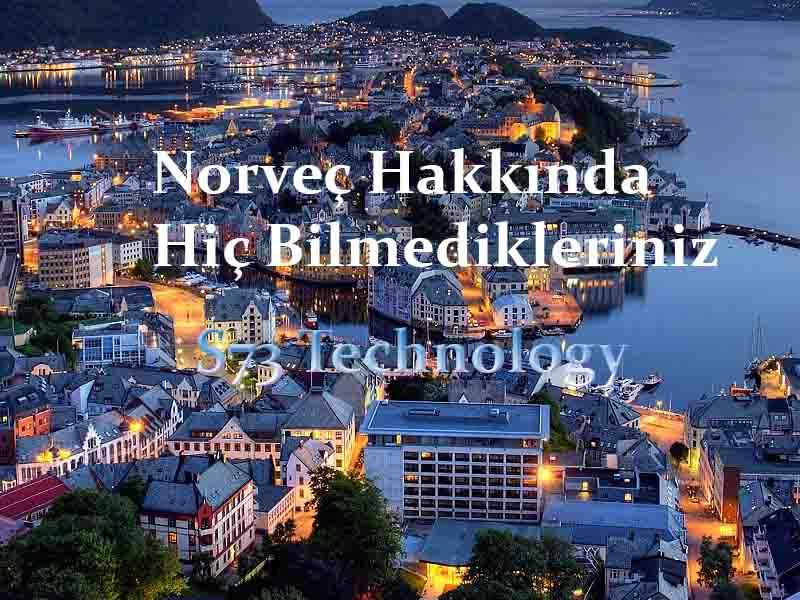 Norveç Hakkında İlginç Bilgiler