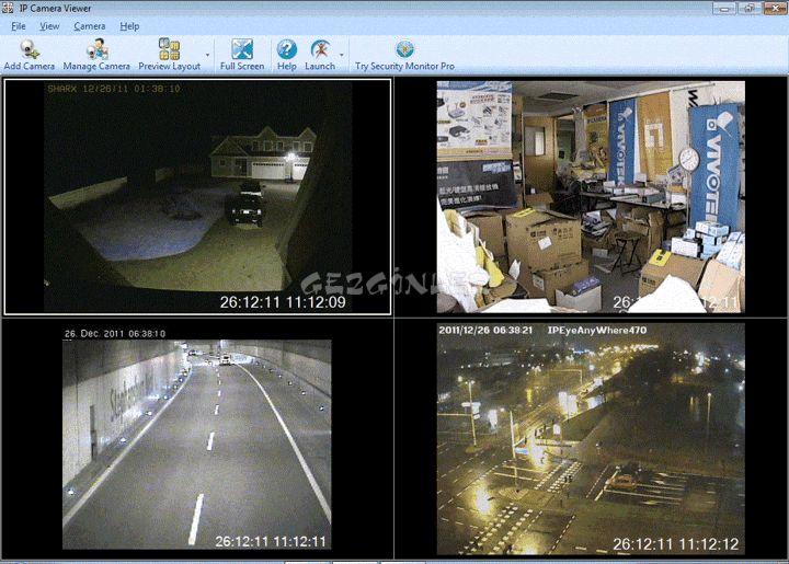 İp Kamera İzleme Aracı